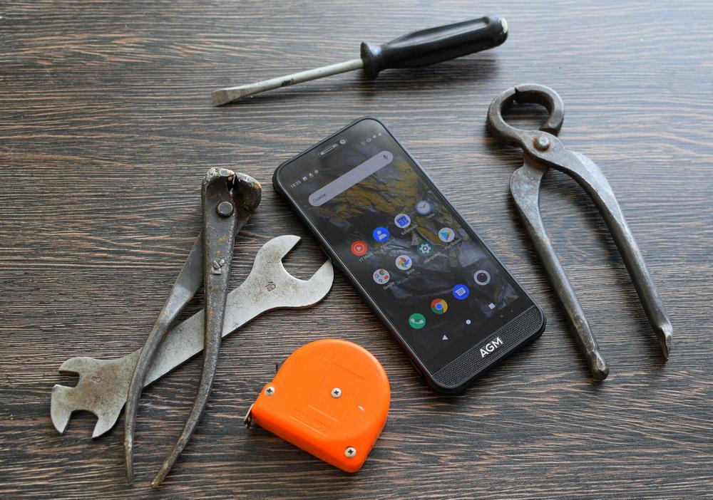 Обзор AGM A10 4/64GB: недорогой защищенный смартфон с NFC, мощной