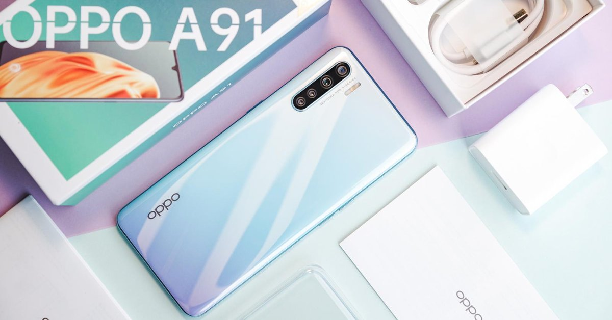 OPPO A91 Review: Eye-Catching Design & 48MP Quad Rear Cameras
