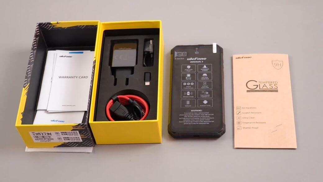 Ulefone Armor 7 Обзор: Защищенный смартфон с Helio P90 и 48МП