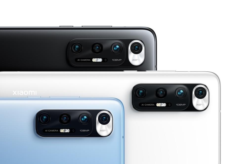 小米10S就是換上Snapdragon 870處理器與新色的小米10至尊版