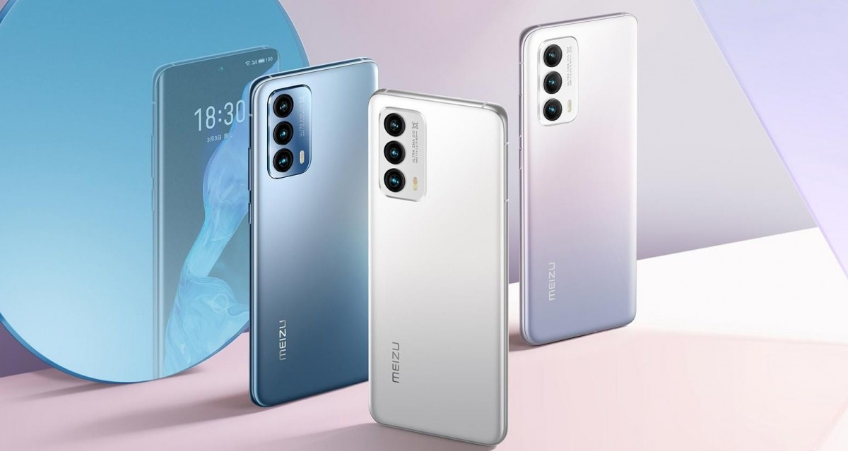 Meizu 18 series is now available for overseas shipping - GSMArena