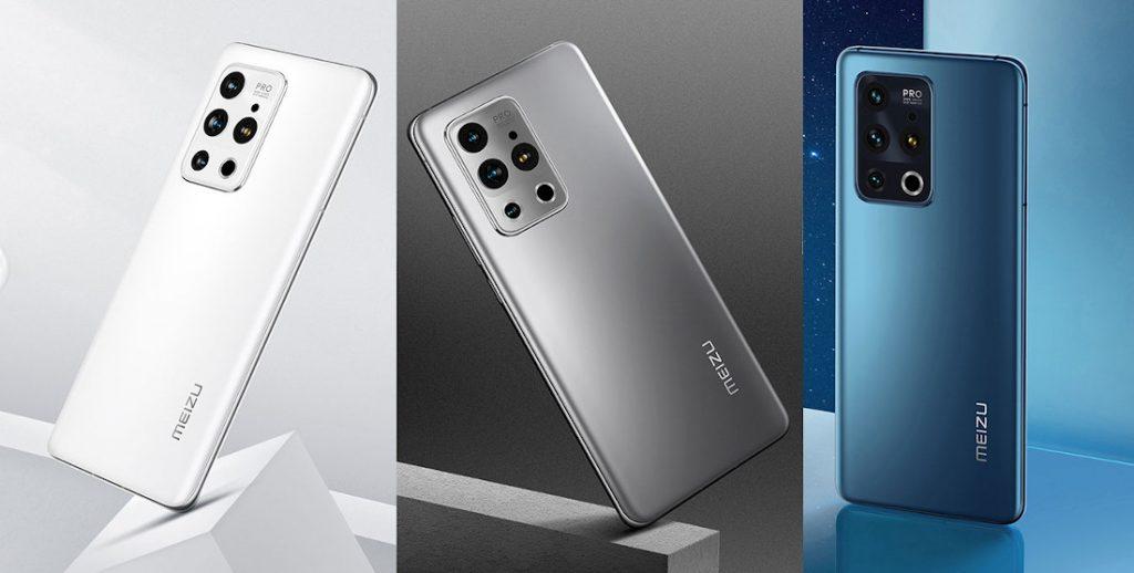 Представлены флагманские смартфоны Meizu 18 и Meizu 18 Pro
