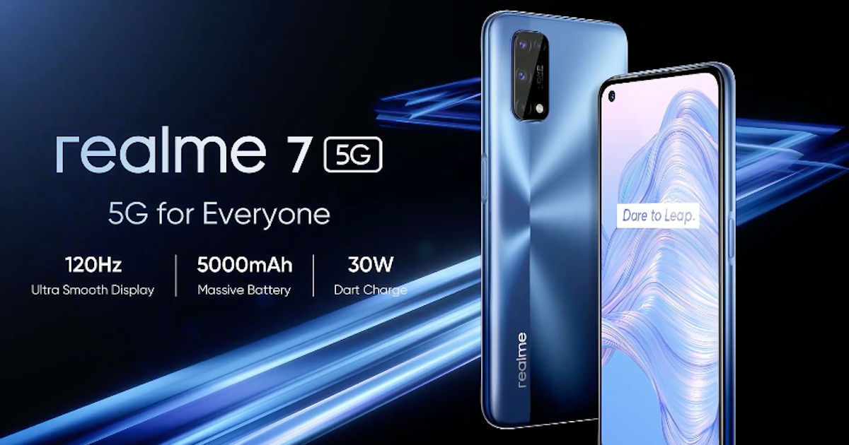 Realme 7 5G is going to launch in India review, specs, prices and