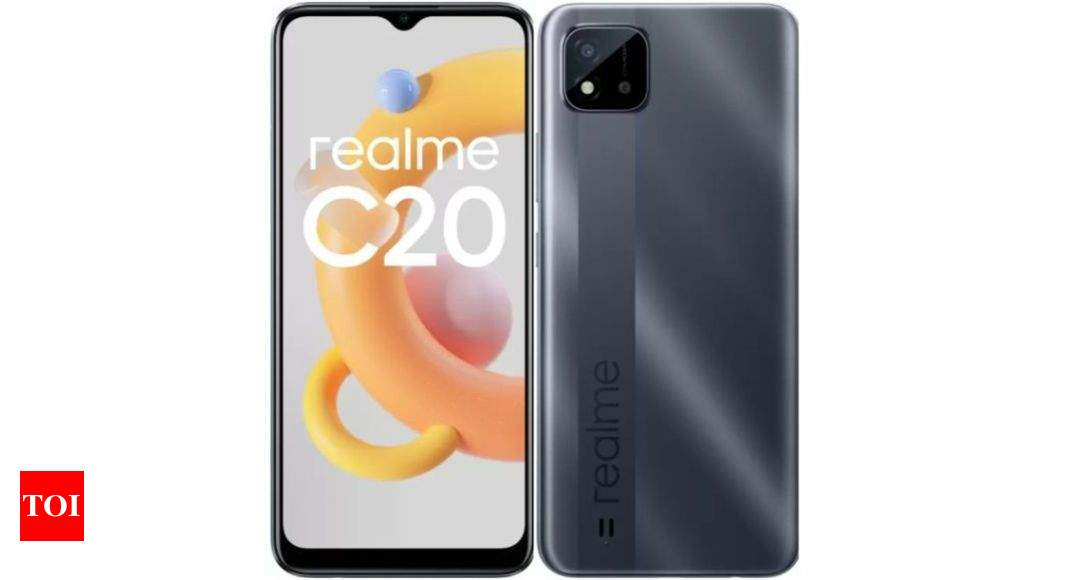 Realme C20: Realme C20 to go on its first sale right now through