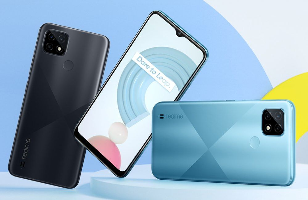 Realme C21 with 6.5-inch display, Helio G35, and 5,000mAh battery