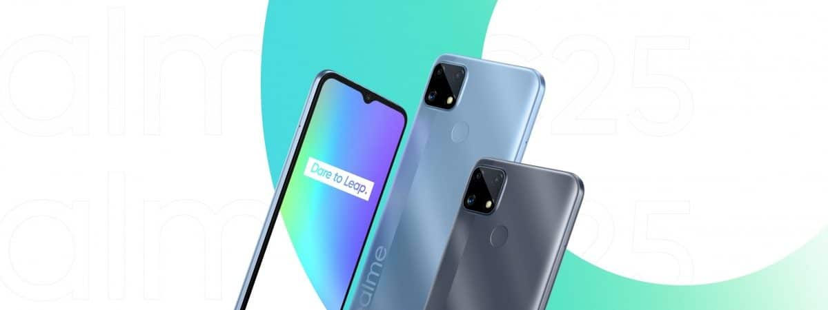 Realme C25 arrives with Helio G70 chip and giant 6.000 mAh battery