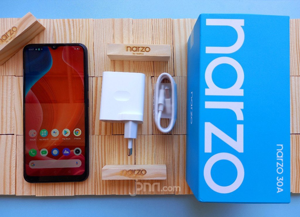 Review Realme Narzo 30A: Million Hp To Play Games, Joss! – Netral.News