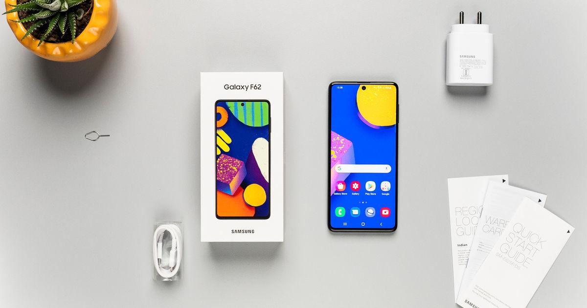 Samsung Galaxy F62 hands-on