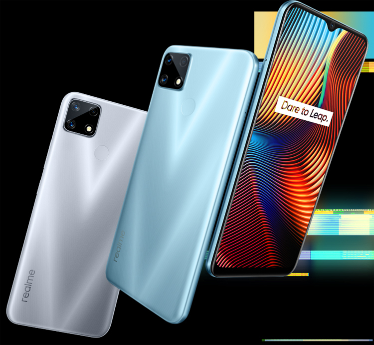 The European version of the smartphone Realme 7i received a