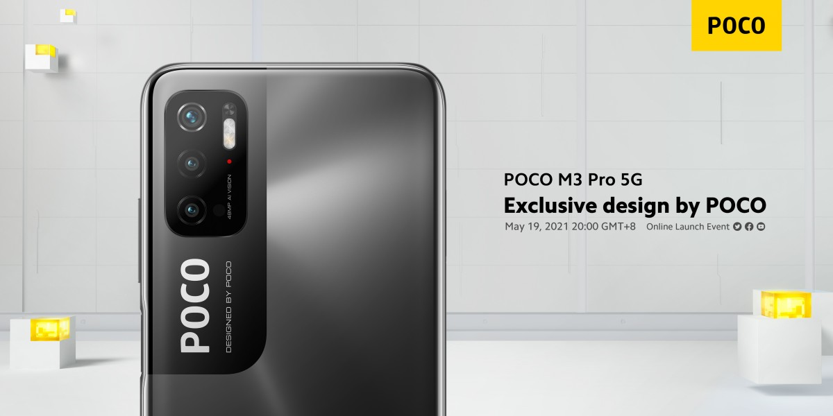 Poco M3 Pro 5G design officially confirmed, main camera will have